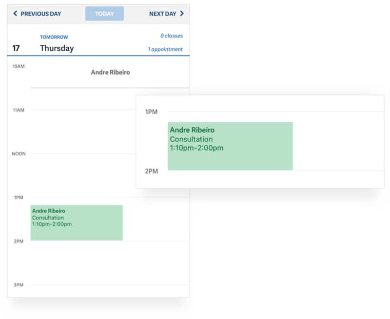 Acuity Scheduling - scheduling assistant