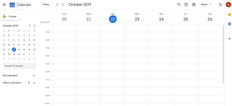 Google Calendar - scheduling assistant