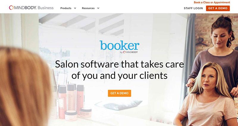 Booker by MINDBODY–Hair salon software.