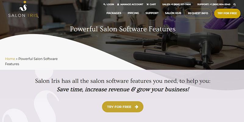 Salon Iris Software