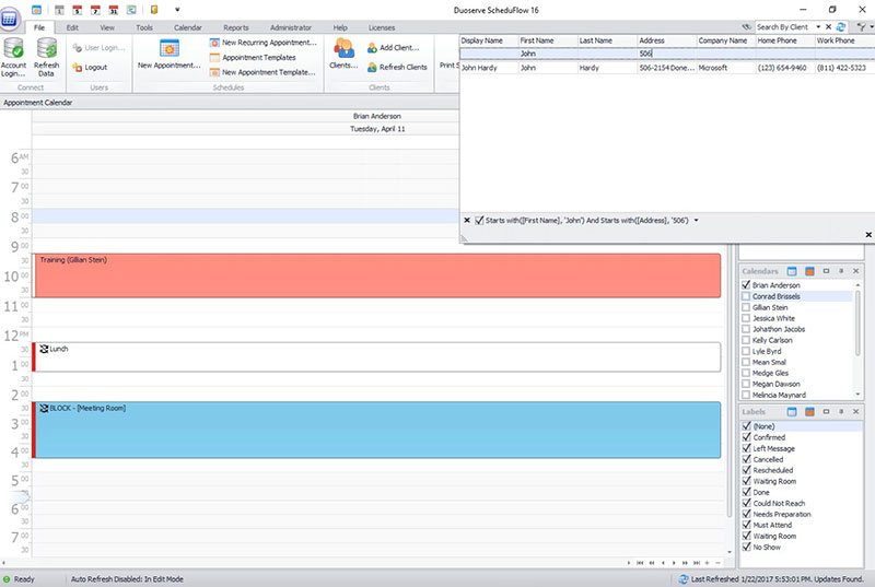 Duoserve and the ScheduFlow