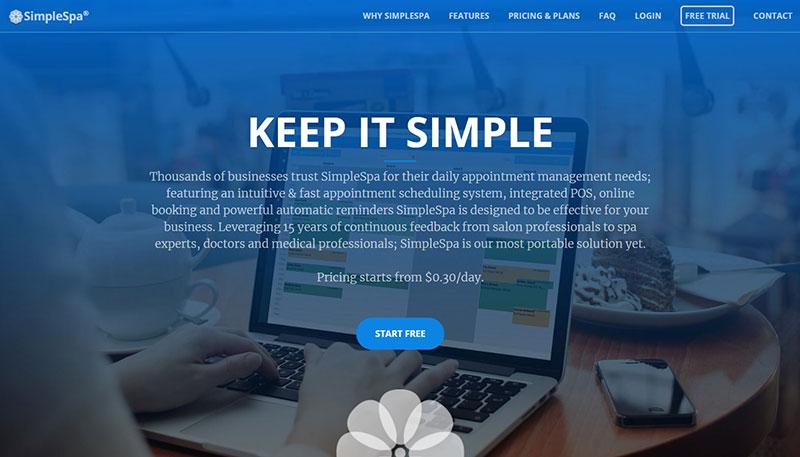 SimpleSpa – Keep it simple
