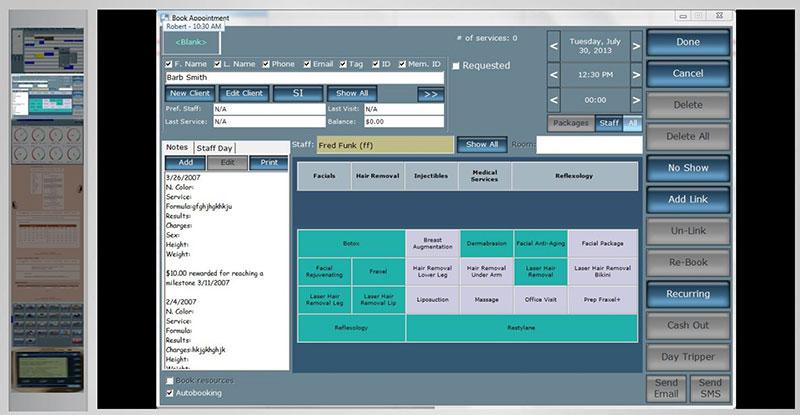 Spaware – Full salon management software.