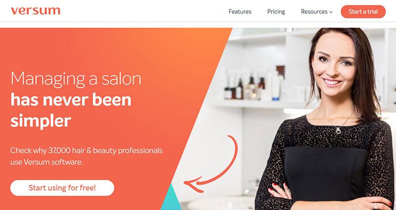 Versum Salon Software