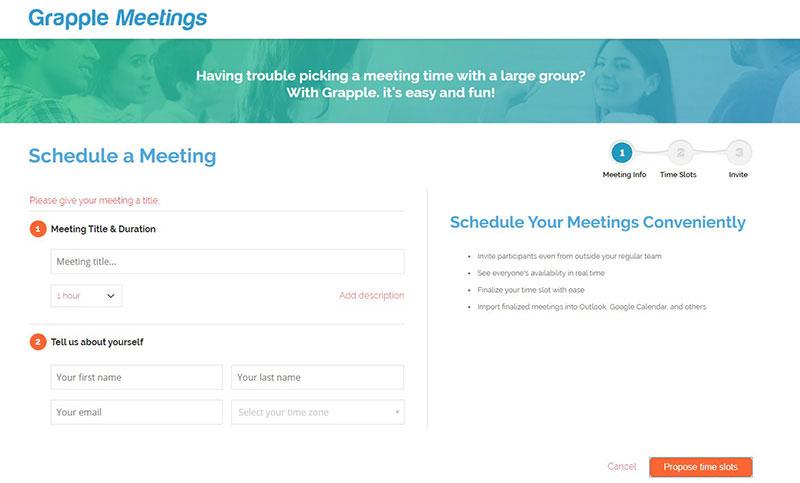 Grapple Meetings