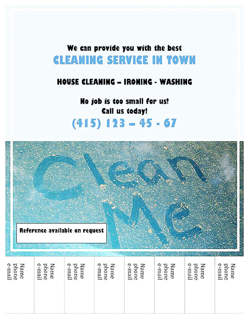 Cleaning Services in Town