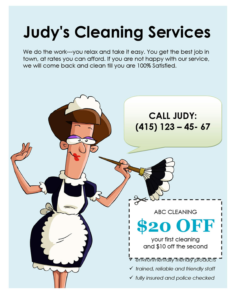 Judy's Cleaning Services