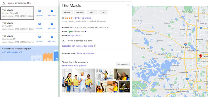 Market Your Cleaning Business Locally by Optimizing Your Google My Business Page