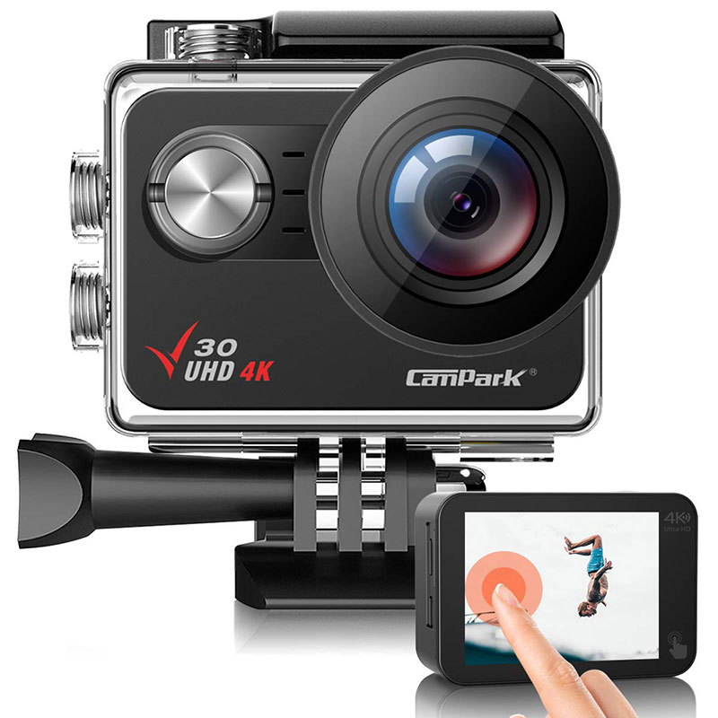 Campark V30 Native 4K Action Camera