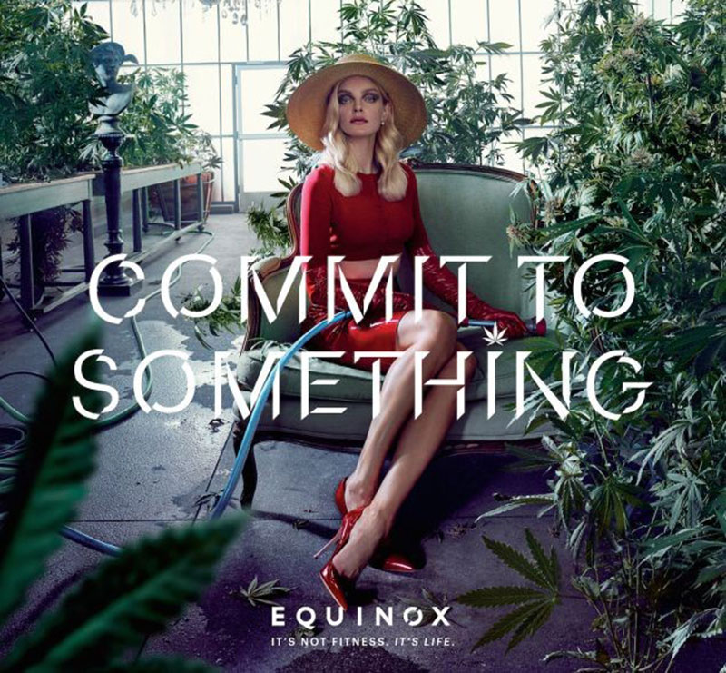 'Commit to Something' Equinox Fitness Ads