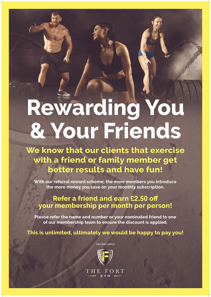 Promote Gym Membership Referral