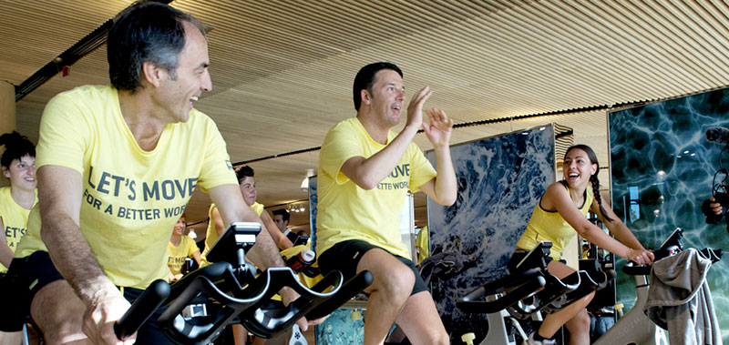 Technogym's Moving to a Better World