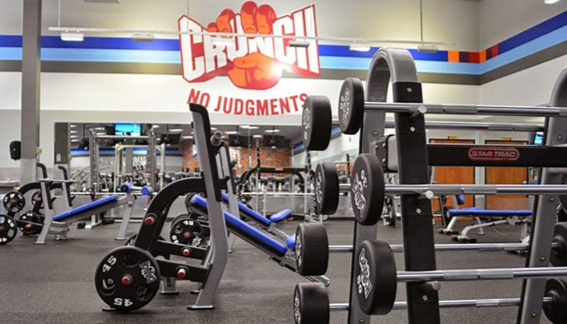Say No to Judgements at Crunch Fitness