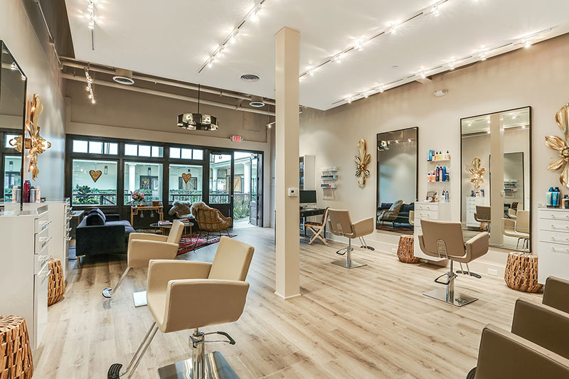 What are the Average Salon Dimensions?