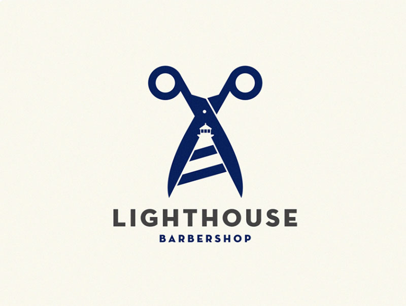 Lighthouse / barber shop