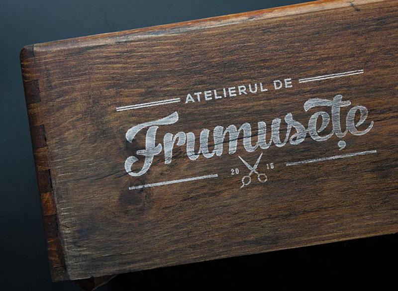 Logo: Atelierul de frumusețe