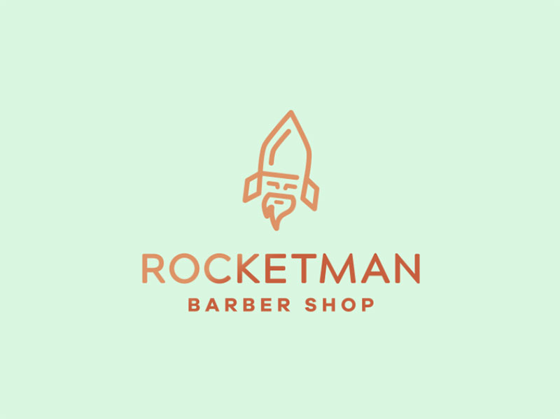 Rocketman Logo