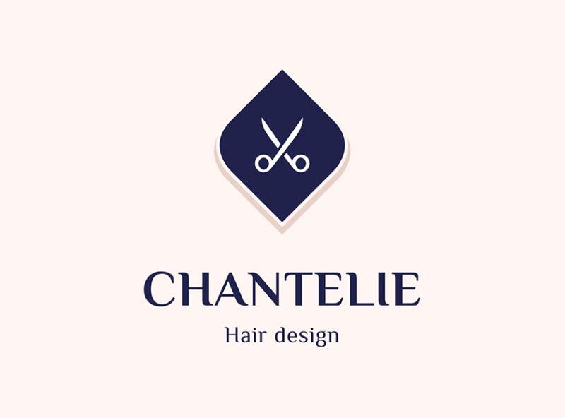 Chantelie - Hair design logo