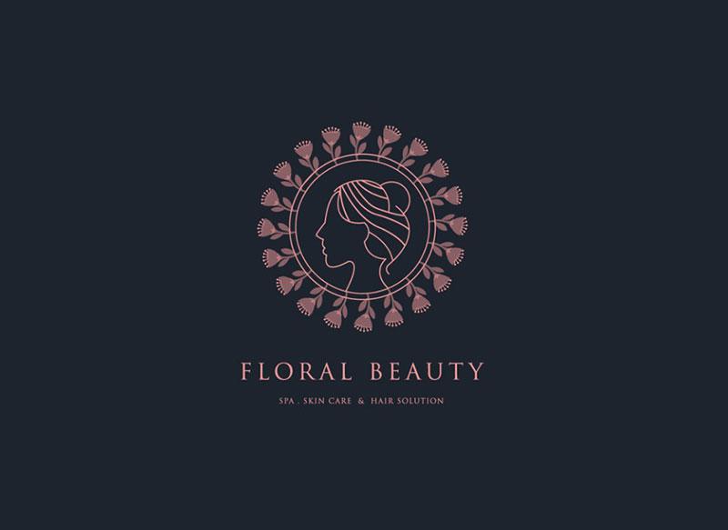 Floral Beauty Logo Design