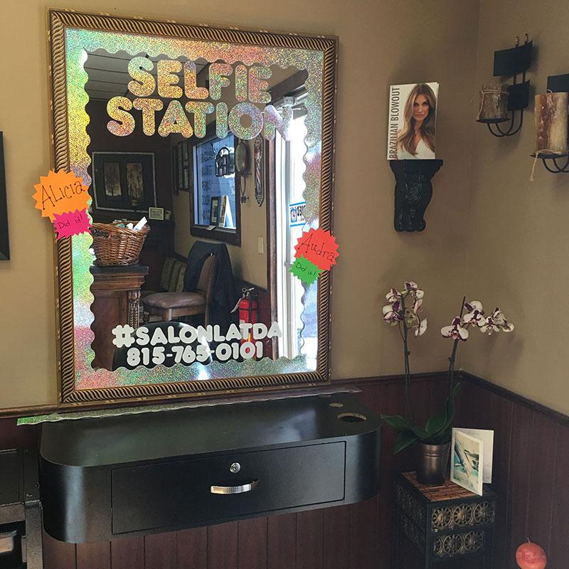 Designate A Selfie Area In Your Salon