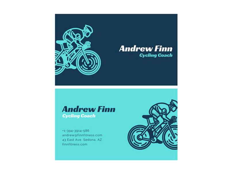 Cycling Coach Business Card