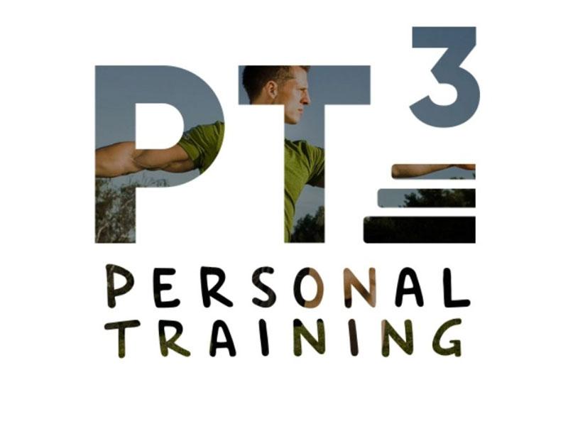 PT³ - Personal Trainer Logo