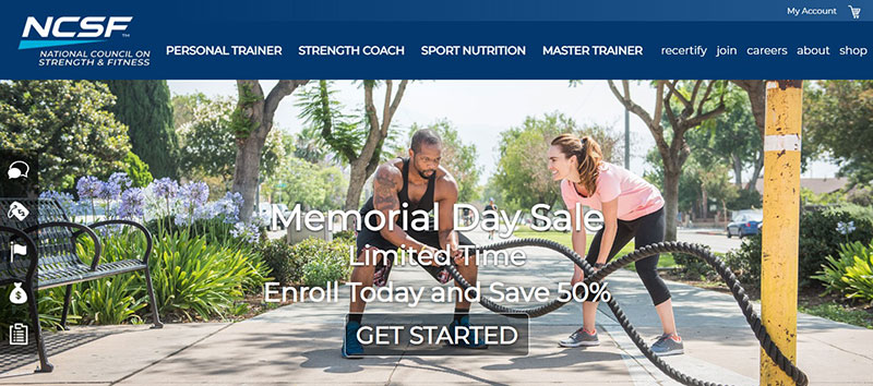 The National Council on Strength & Fitness (NCSF)