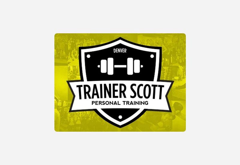 Trainer Scott | Personal Trainer Logo