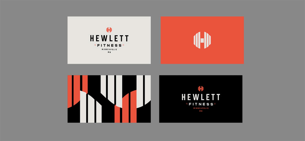 Personal trainer business cards examples to inspire your own
