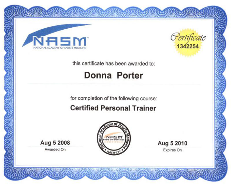 Get a Certification