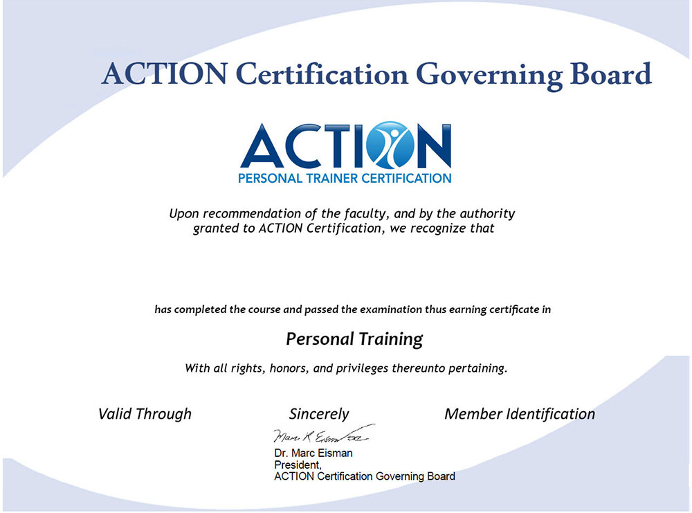 The Best Personal Trainer Certification to Be A Certified Personal Trainer