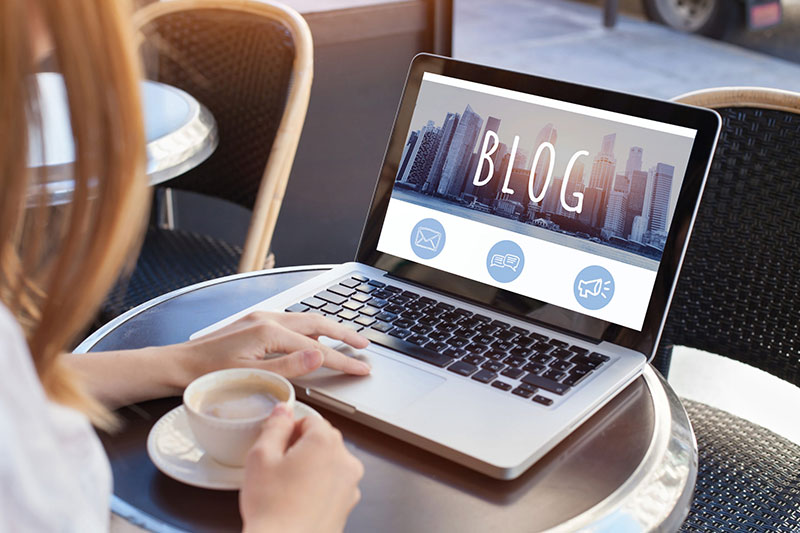 Build SEO By Starting A Blog On Your Website