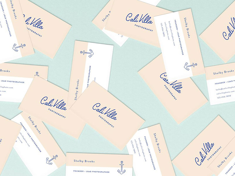 Cali Villa Business Cards