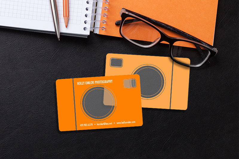 Camera Style Business Cards