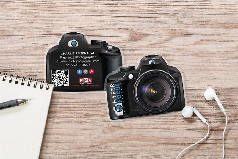 Custom Shape Camera Cards
