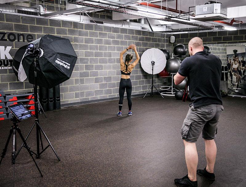 fitness photography tips - Lighting
