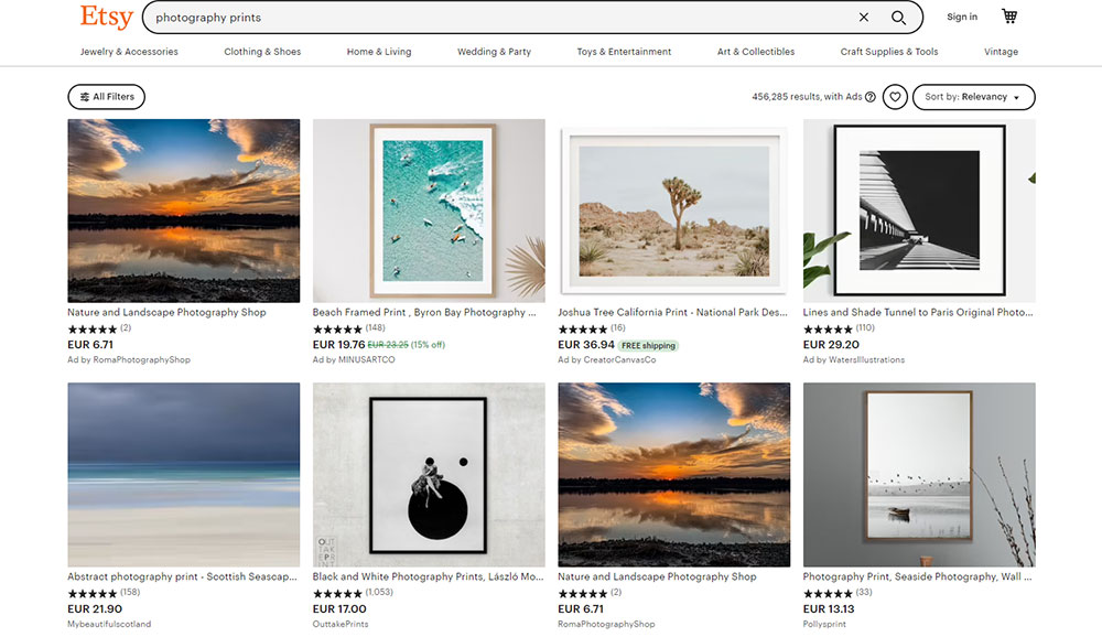 Selling Photos on Etsy: All You Need to Know