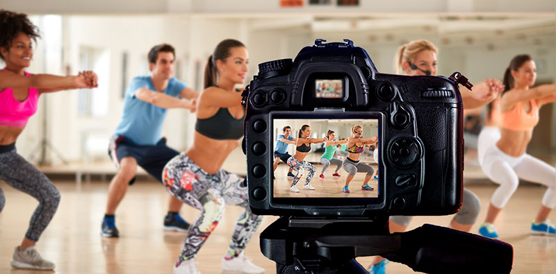 fitness photography tips - Model