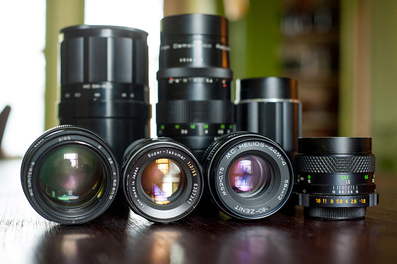 The Type of Lenses to Take