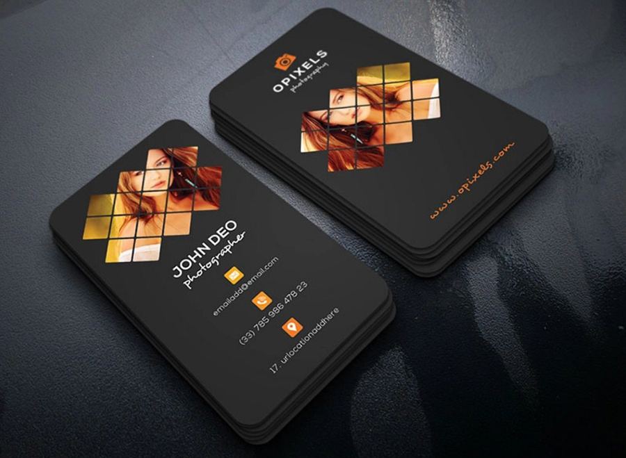 Great Photography Business Cards Ideas and Examples