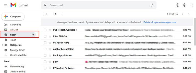 Avoid Hitting The Spam Box